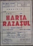 Harta Razasul/ afis opereta, Braila, Cercul muzical Lyra