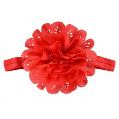 Bentita elastica cu floare rosie