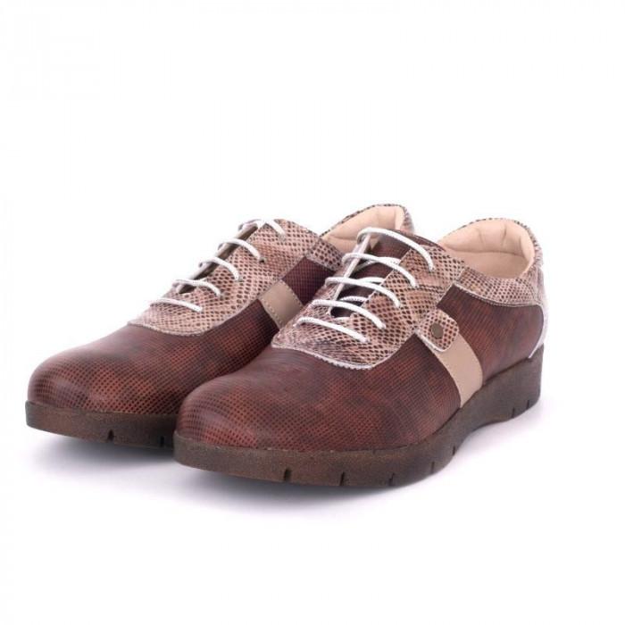 Pantofi casual pentru dama din piele naturala VIC1640