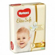 Scutece Huggies elite soft (3) mega 80- (5-9kg)