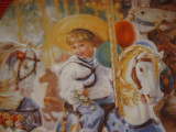 TABLOU BRADEX - FARFURIE DECORATIVA PORTELAN U.S.A SANDRA KUCH - CARUSEL