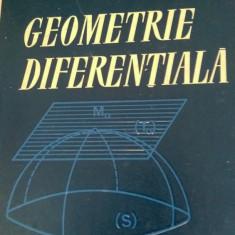LXXC3 Geometrie diferentiala - GH.TH.Gheorghiu 1964