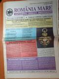 Ziarul romania mare 5 noiembrie 1999 -senatorul Vadim Tudor si J.R. Ewing