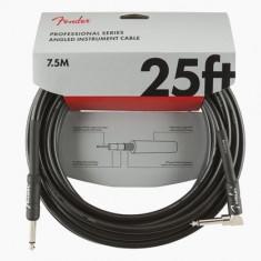 "Cablu Fender Professional Instr. 25"" Angled Black"