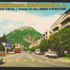 CPI B13371 CARTE POSTALA - DEVA. VEDERE GENERALA. ASIROM, ASIGURARE ROMANEASCA