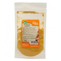 Amestec de Condimente Curry Hot 50 grame Paradisul Verde Cod: 6090000246410