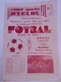 Program meci fotbal OTELUL GALATI - OLIMPIA RAMNICU SARAT (01.04.1984)