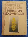 Cumpara ieftin Indreptar de farmacografie si interactiuni medicamentoase - Cuparencu 1984 Dacia