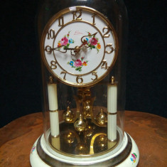 Elegant ceas de șemineu ,birou cu fir de torsiune și întoarcere la un an