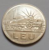 Monedă 1 leu 1966 uncirculated / necirculata