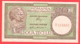 Romania - 20 lei ianuarie 1950 Luca + Rubicec - filigran 37 XF