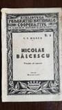 Nicolae Balcescu Viata si opera