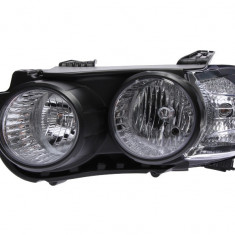 Far stanga (H7 reglaj electric cu motoras fundal negru) CHEVROLET AVEO