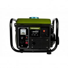 Generator capacitate cilindrica: 63cc putere continua: 0.65kw putere maxima: 0.7kw capacitate rezervor combustibil: 4l autonomie, Heinner