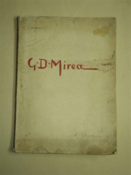 G. D. Mirea - de N. Petraşcu