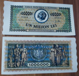 REPRODUCERE bancnota 1 milion 1947- Romania