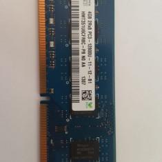 4 Gb SK HYNIX DDR 3 PC3-12800 1600 MHz , Memorie PC Desktop