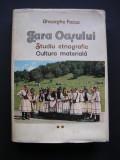 Tara  Oasului.  Studiu  etnografic, Cultura  materiala.  Gheorghe Focsa. Vol II.