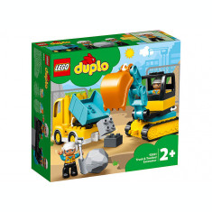 LEGO Duplo = Camion si excavator pe senile 10931