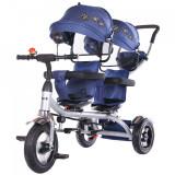Cumpara ieftin Tricicleta gemeni Chipolino 2Play navy
