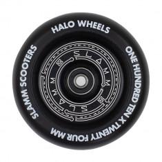 Roata trotineta Slamm 110mm Halo Deep Dish Black + Abec 9