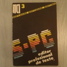 S-PC editor profesional de texte