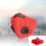 Cumpara ieftin Masca de Protectie Praf Anti Ceata Smog PM2.5 Breathing Valve Reutilizabila Red