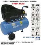 Cumpara ieftin Compresor industrial 25 litri, 1 cilindru fara ulei, ADLER MA3605.25