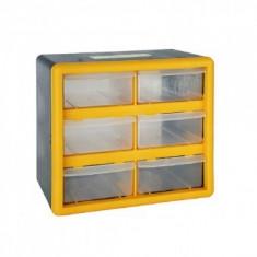 Organizator accesorii Strend Pro SBx3045-A, 6 sertare, 265x160x235mm