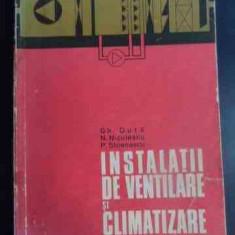 Instalatii De Ventilare Si Climatizare - Gh. Duta N. Niculescu P. Stoenescu ,547021