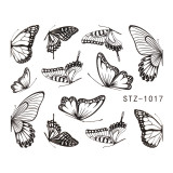 Tatuaj unghii SensoPRO Summer Challenge, model STZ-1017