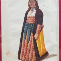 Grecoaica , Gravura colorata, inceput de secol 19
