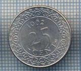 AX 1031 MONEDA- SURINAM (SURINAME) - 25 CENT -ANUL 1962 -STAREA CARE SE VEDE, Europa