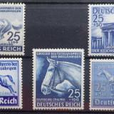 Lot timbre Germania Deutsches Reich, Nestampilat