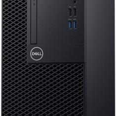 Calculator Sistem PC Dell OptiPlex 3060 MT (Procesor Intel® Core™ i7-8700 (12M Cache, 3.60 GHz), Coffee Lake, 8GB, 1TB HDD @7200RPM + 128GB SSD, Intel