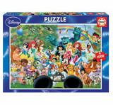Cumpara ieftin Puzzle The Marvellous World of Disney II, 1000 piese, Educa
