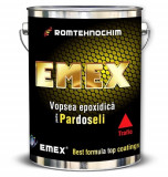 Vopsea Epoxidica pentru Pardoseli si Trafic EMEX, Negru, - Bidon 20 Kg