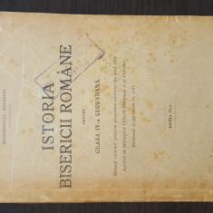 Irineu Mihalcescu -Istoria bisericii romane pentru clasa IV-a secundara, ed. IX