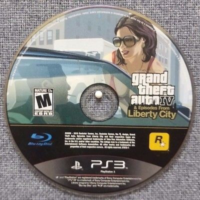 GTA 4 IV Episodes from Liberty City original PS3, stare excelenta