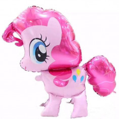 Balon folie unicorn magic Pinkie Pie roz 85x80 cm
