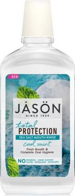 Apa clatire gura,Total Protection - respiratie proaspata, 473 ml, Jason foto