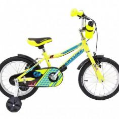 Bicicleta Copii Venture 1617 Galben 16 Inch