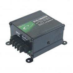 Convertor de tensiune auto Elta Lighting 24V - 12V 10A Kft Auto