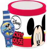 Cumpara ieftin Ceas Junior WALT DISNEY KID WATCH MICKEY MOUSE - Tin Box 562386
