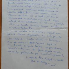 3 scrisori catre Maria Groza , una a lui Octavian Groza , anii 70