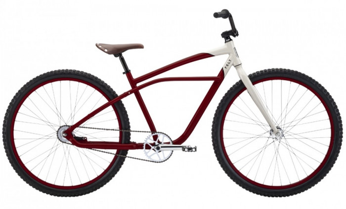 """Bicicleta Felt Cruiser Burner, 3sp, 29"""", Brick Red - BUR13BR"""
