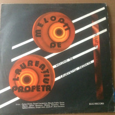 laurentiu profeta melodii disc vinyl lp muzica pop usoara electrecord EDE 01338