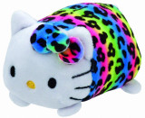 Jucarie de plus TY 10 cm Teeny TYS Hello Kitty multicolora