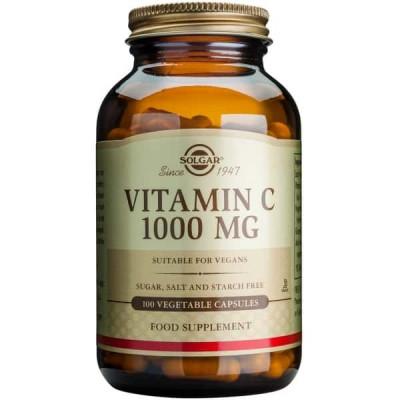 Vitamina C 1000mg veg.caps, 100cps, Solgar foto