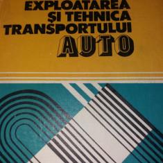 EXPLOATAREA SI TEHNICA TRANSPORTULUI AUTO
